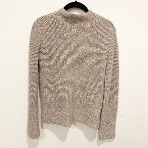 TSE 100% Cashemer Mock Neck Sweater